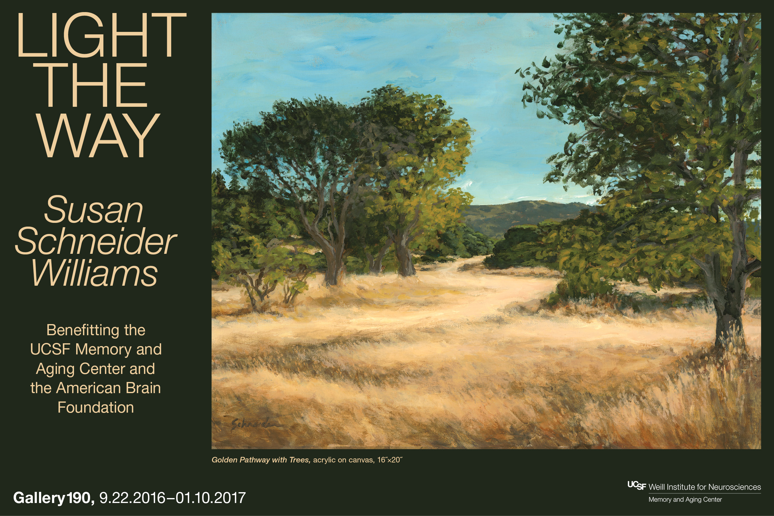 """Light the Way"" exhibit by Susan Schneider Williams"