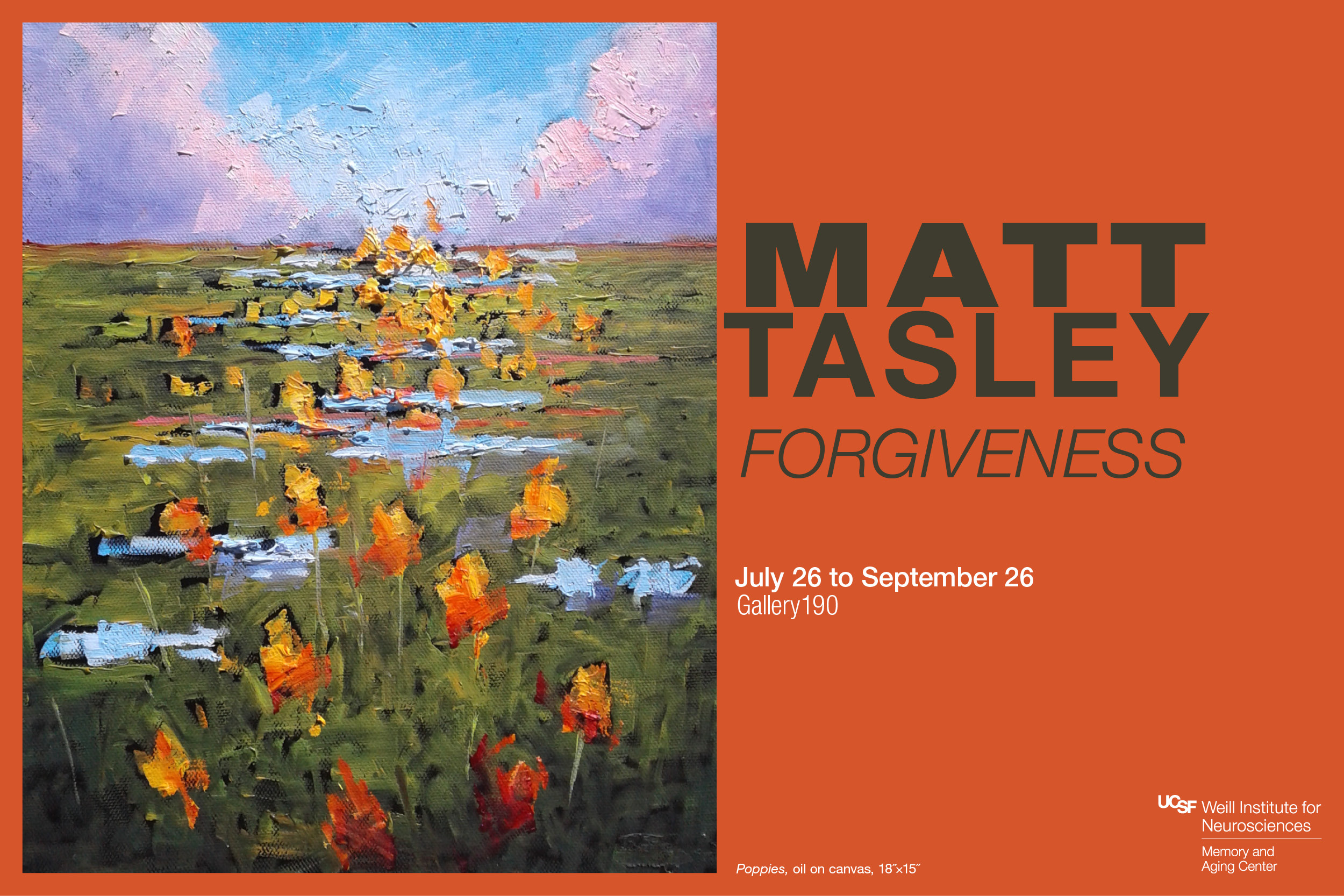 """Forgiveness"" exhibit by Matt Tasley"