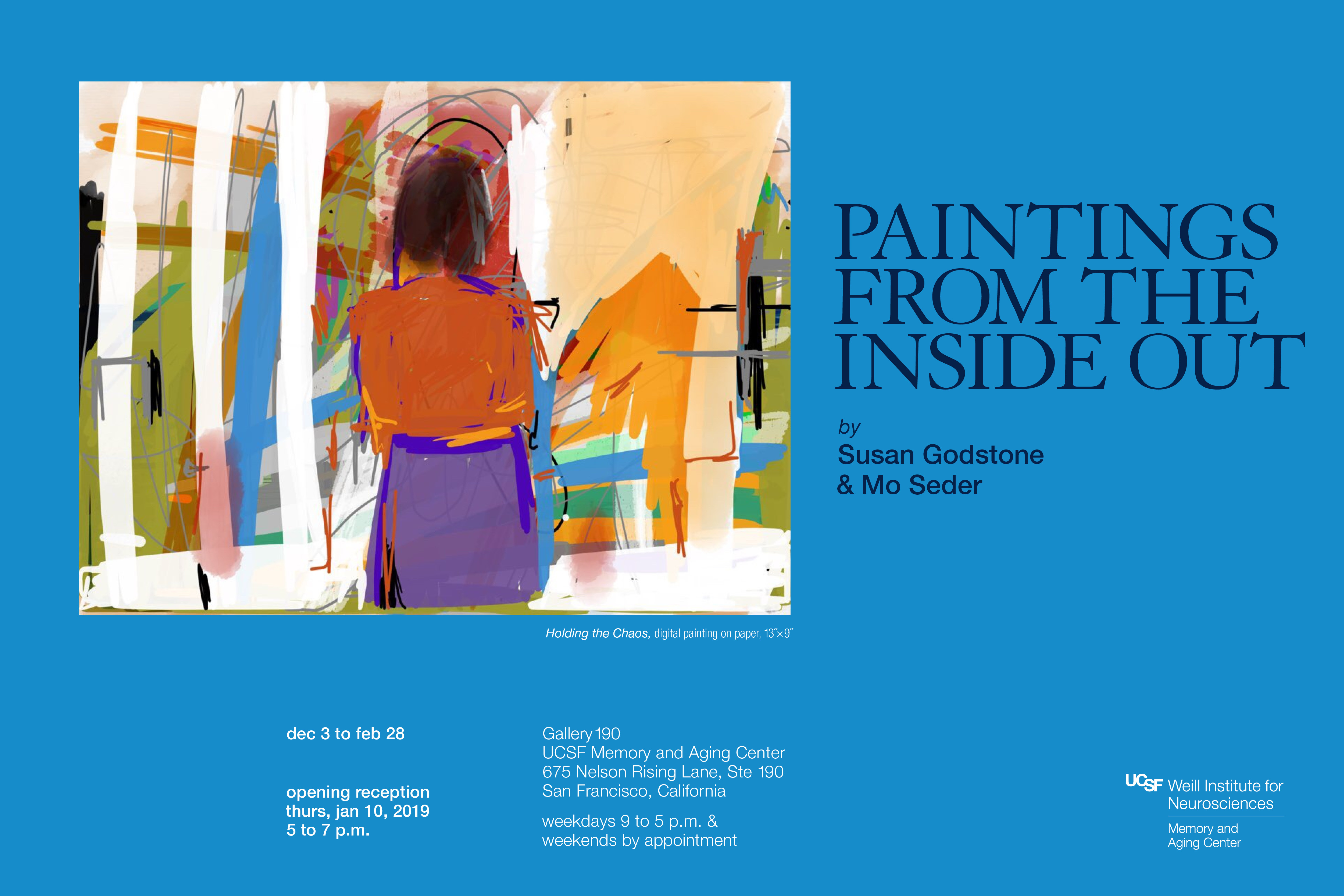 """Paintings from the Inside Out"" by Susan Godstone and Mo Seder"