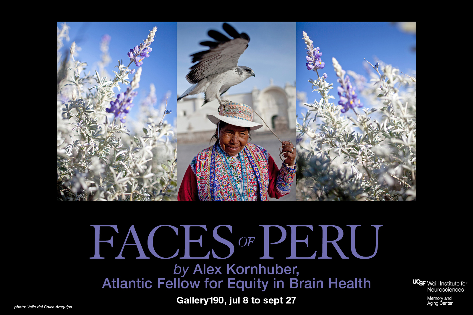 """Faces of Peru"" photography exhibit by Alex Kornhuber"