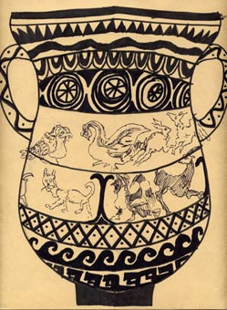 """Greecian Vase"" by Dane Botino"