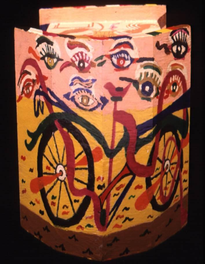 """""""Bicycle Eyes"""" by Victor J. Wightman"""