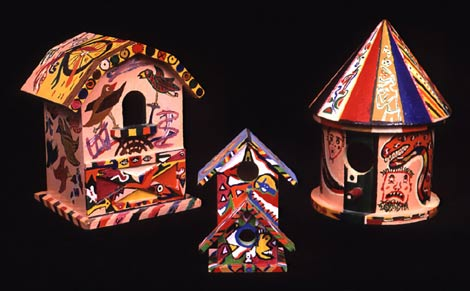 """Birdhouses"" by Victor J. Wightman"