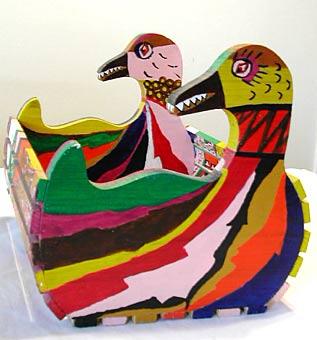 """""""Duck Basket"""" by Victor J. Wightman"""